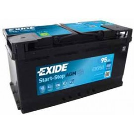 Exide Start-Stop AGM 12V/95Ah/850A
