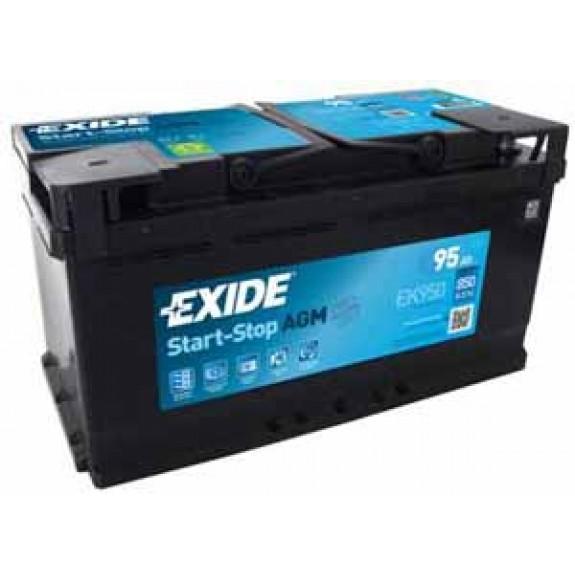 Exide Start-Stop AGM 12V/95Ah/850A