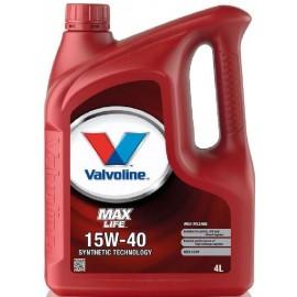 Maxlife valves 15W-40